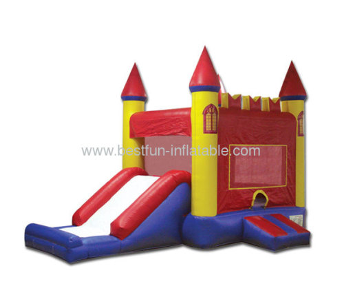 Cheap Inflatable Red Castle Combo