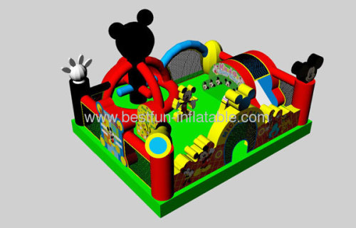 Best Funny Inflatable Mickey Mouse Park