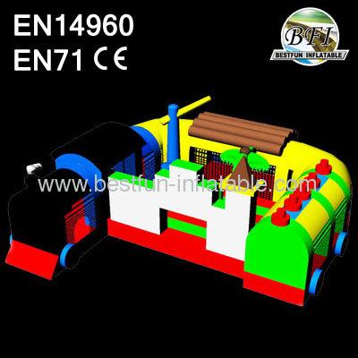 Inflatable Train Amusement Park