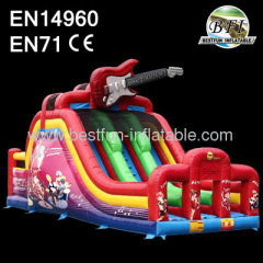 Commercial Dual Inflatable Slides