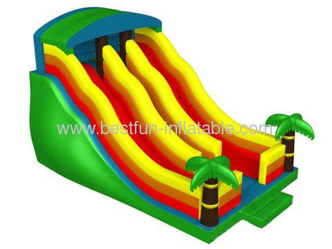 Regenbogen Double Slide Inflatables
