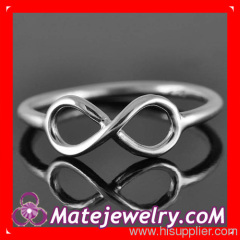 Sterling Silver Infinity Ring For Women