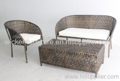 Garden wicker chrysanthemum weaving leisure chairs