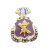 militery lapel pin on pin