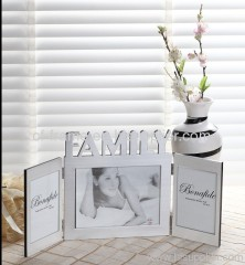 stainless steel profile photo frame