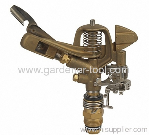full or part circle brass garden water sprinkler