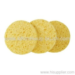 Round shape Cellulose Sponge