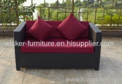 Patio individual and sectional sofa 2-seaters