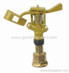 "Zinc Water Hose Sprinkler With G3/4"" Female Thread Tap"