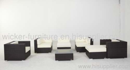 Patio wicker sectional sofa sets