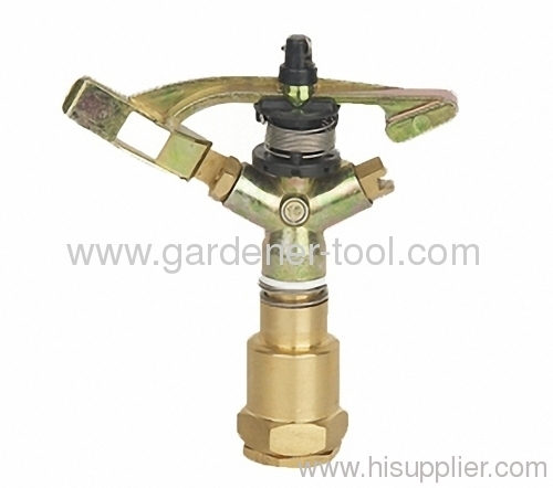 Agriculture irrigation full circle water impact sprinkler