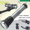 10 watt cree xml t6 rechargeable torch light bicycle flashlight ningbo