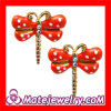 Cute Enamel Stud Earrings,Dragonfly Earrings Cheap