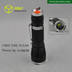 cree xm-l t6 led torch flashlight
