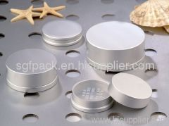 Cosmetic container Aluminum jar makeup package highty qualit
