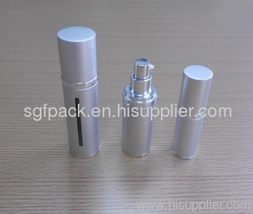 Airless bottle Aluminum container cosmetic package makeup package lotion bottle spray bottle pump bottle
