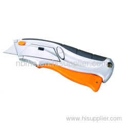 Automatic Load & Retract Soft-Grip Utility Knife