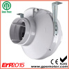 5 inch ABS plastic In-line Centrifugal fan with backward curved centrifugal fan