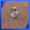 Stainless Steel mini Gear Band Clamp