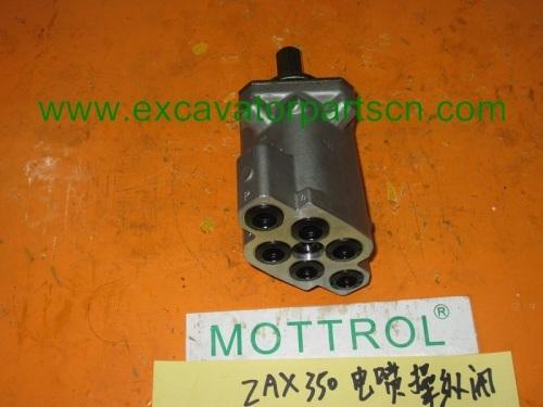 ZAX330 ZAX350 ZAX470 REMOVE CONTROL VALVE