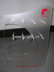 Bespoke L-stand acrylic jewelry display stands