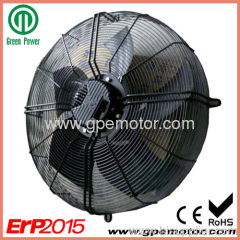 Erp 2015 compliant 230V EC Axial flow Fan 400mm low noise
