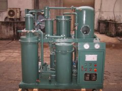 Vacuum lubricating oil purification oil dehydration oil purifying machine