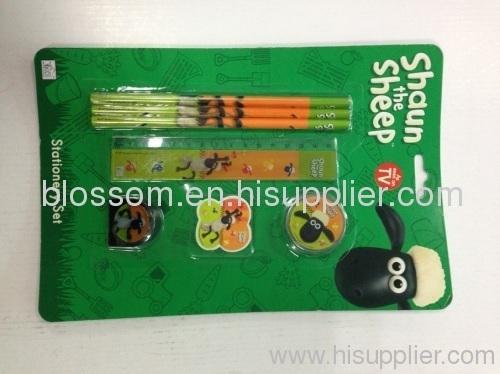 hot sale stationery set for kids funny stationery