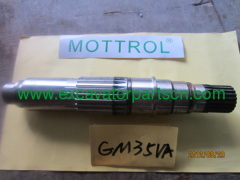 TM35VA MAIN SHAFT 112580A 610B2002-01