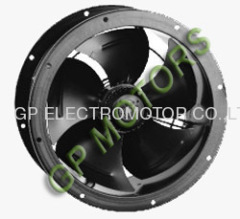 high airflow 230V AC Inline Axial Fan impeller from 200mm to 630mm