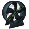 230V Portable AC inline axial fan blower with metal bracket from 300 to 600