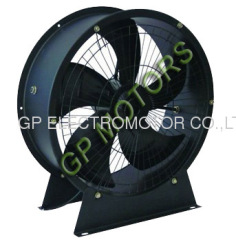 High air flow AC Portable inline axial flow fan 380V
