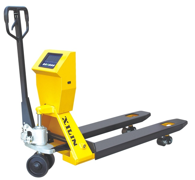Weight Scale Hand Pallet Truck With Printer From China