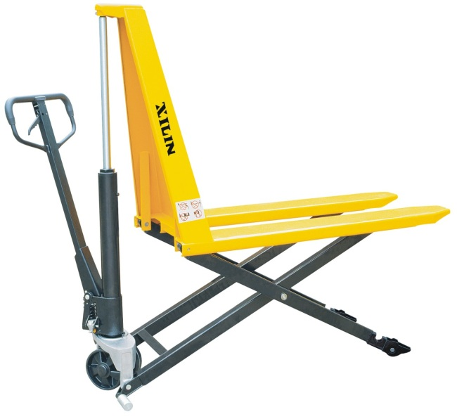 Hydraulic Pallet Lifters : Hydraulic scissor high lift pallet truck from china