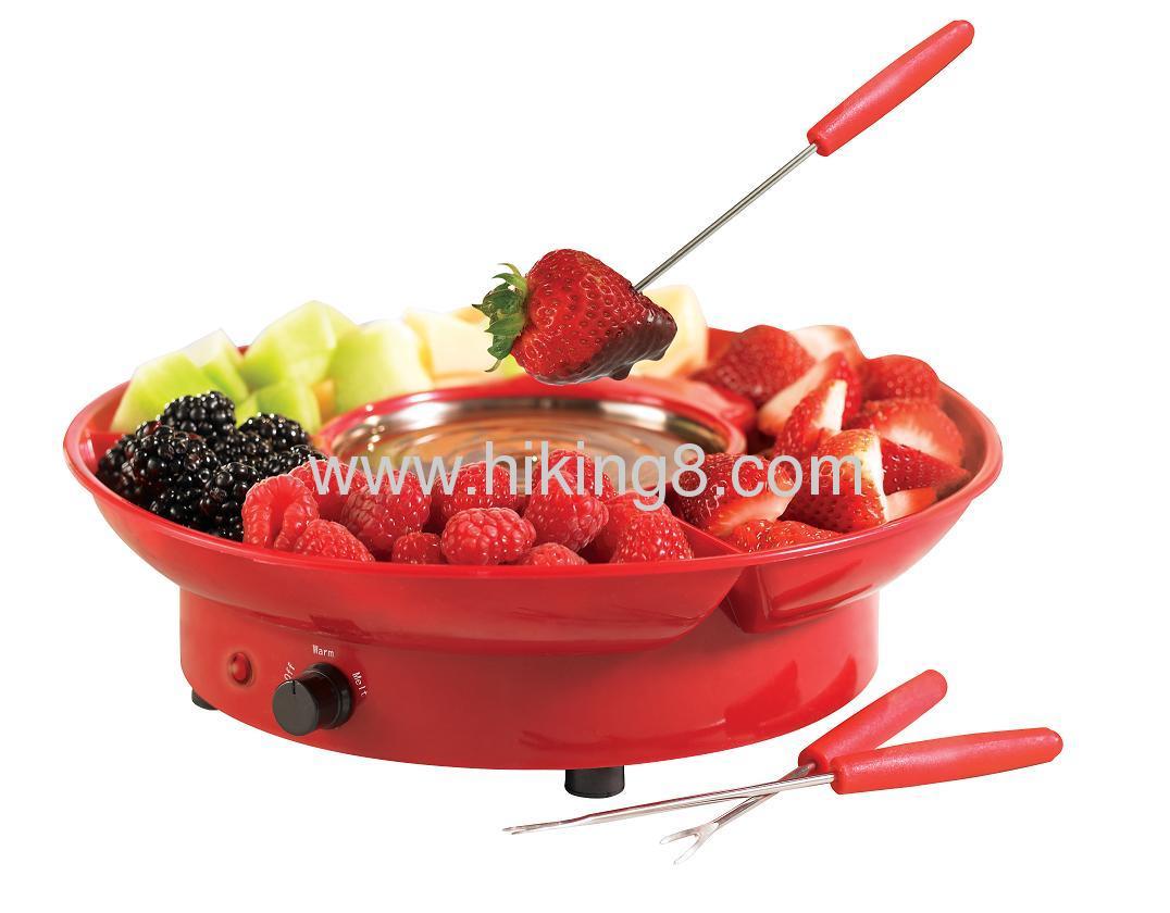 colored mini chocolate fondue 25w