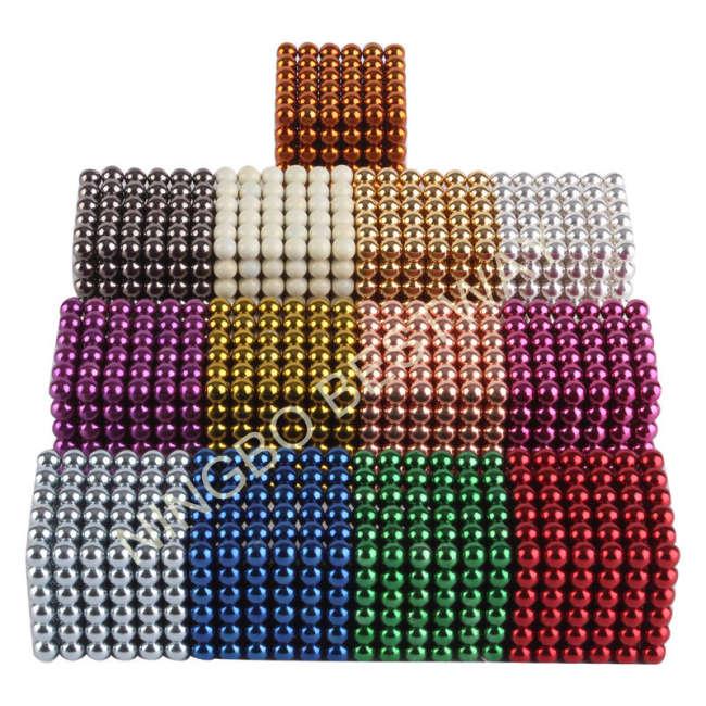 Colorful Neocube Bucky Balls