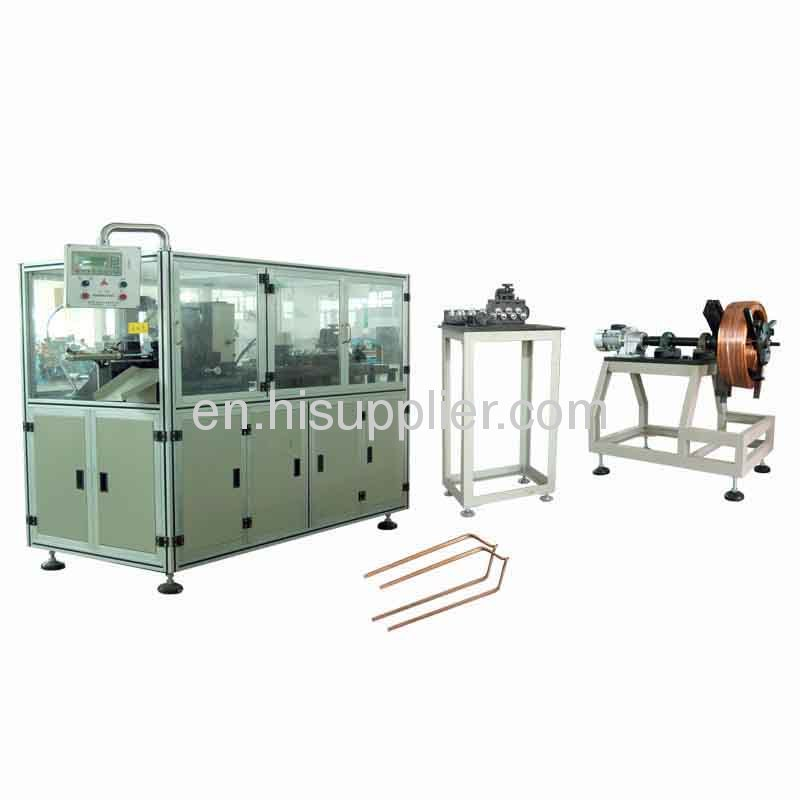 Flat Wire Shaping Machine