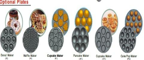 electric12 cavity cake pop maker