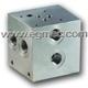 Cetop5 Rexroth Hydraulic Directional Valve Bar Manifold