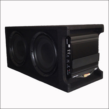 Dual 10Active Car Subwoofer