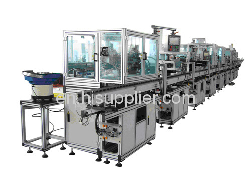 Automatic Electric Motor Production Line