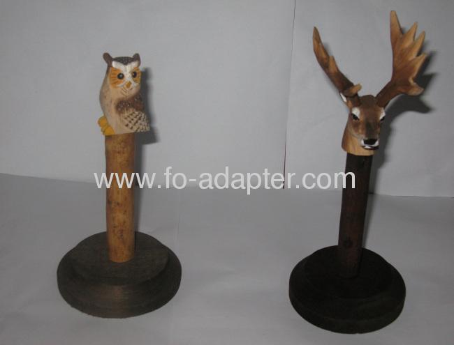 Animal Sculpture New Design Wooden Spool