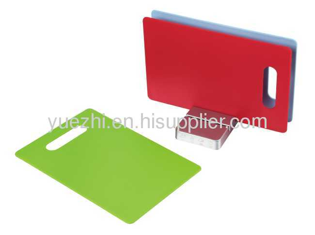 3pcs index chopping board plastic board