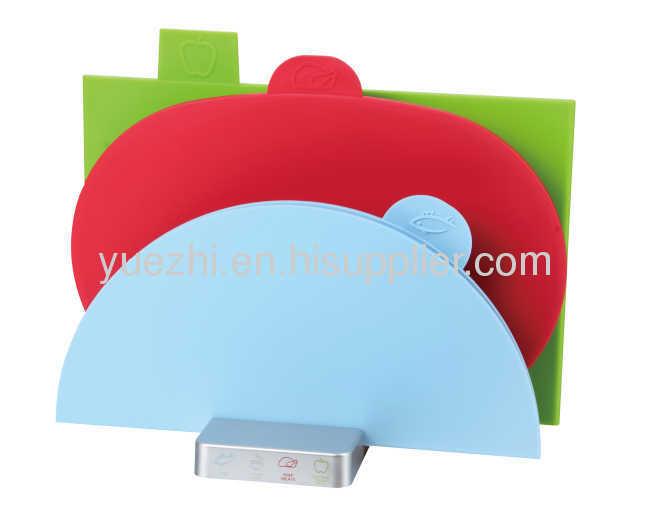 3pcs set chopping board (1pc folding and 2pcs un-folding)