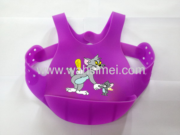 Best quality grade from China for wholesale silicone baby bibs