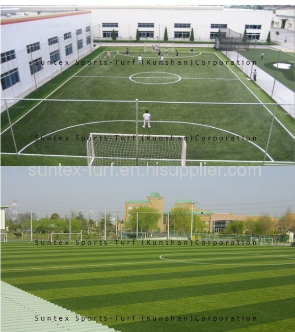 gazon artificiel pour le football / soccer de gazon artificiel / herbe de football / footballl herbe