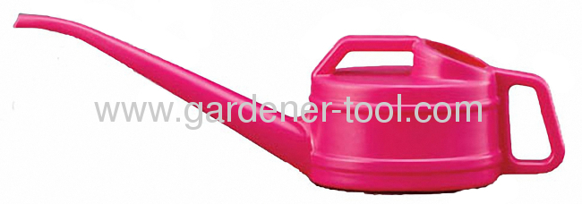 2000ML plastic watering can withlong and narrow neck for irrigate small point