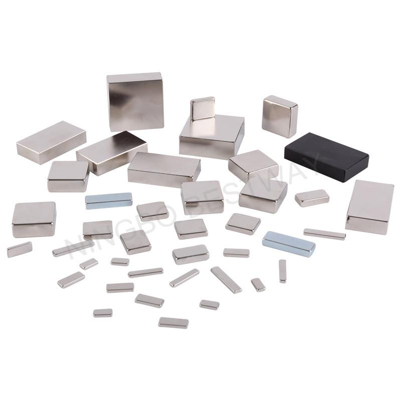 Block Neodymium Magnet with diffrent Coating