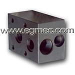 Hydraulic Cartridge Type Pressure Relief Valve Block