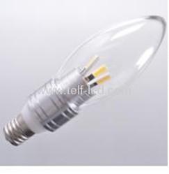 2700-3000k warm white 5W E27 led candle light with EPISTAR LED SOURCE